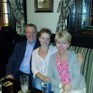 With Karen Sharp and Dave Green